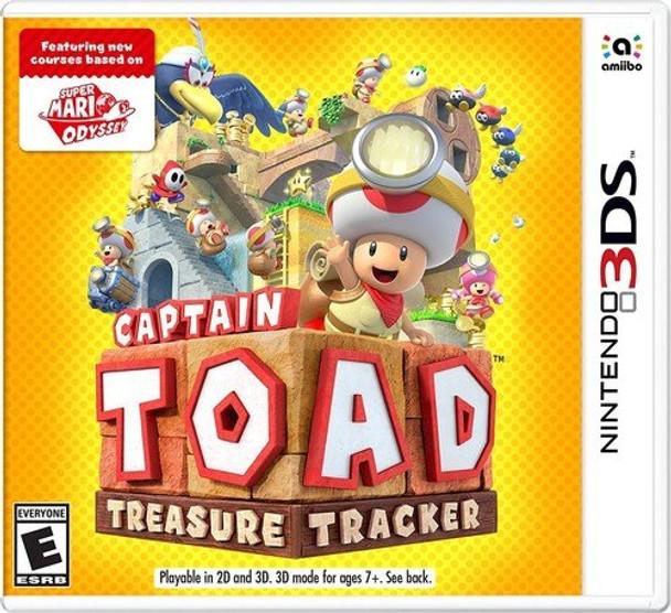 CAPTAIN TOAD TREASURE TRACKER - 3DS