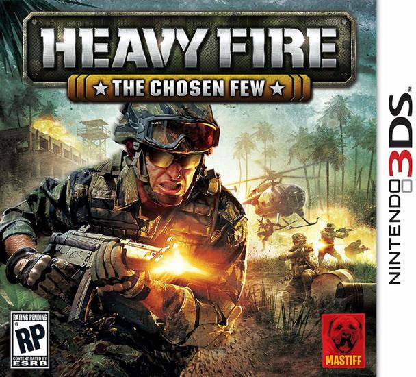HEAVY FIRE THE CHOSEN FEW - 3DS