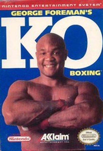 GEORGE FOREMAN KO BOXING - NES