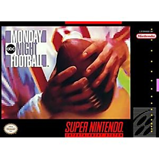 ABC MONDAY NIGHT FOOTBALL - SNES