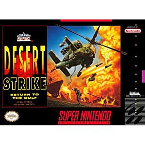 DESERT STRIKE  - SNES