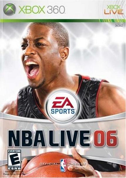 NBA LIVE 2006   - XBOX 360