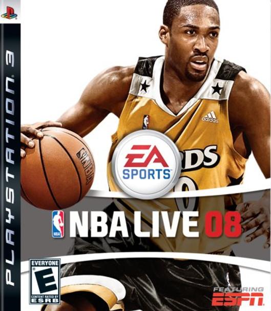 NBA LIVE 2008 - PS3