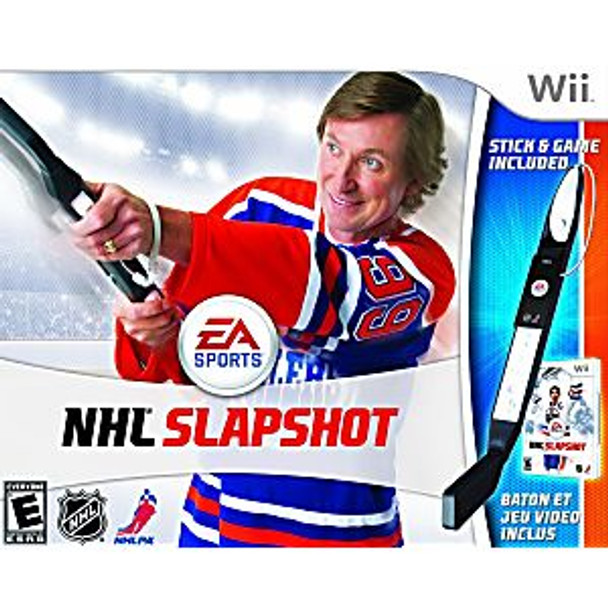 NHL SLAPSHOT BUNDLE - WII - 014633169140