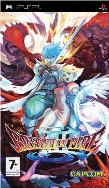 BREATH OF FIRE III - PSP