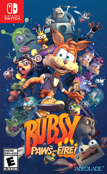 Bubsy Paws on Fire - Switch