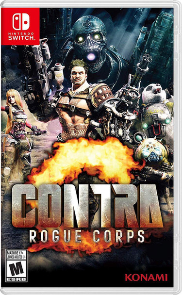 CONTRA:ROGUE CORPS - Switch