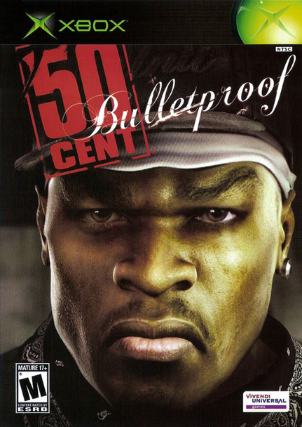 50 CENT BULLETPROOF  - XBOX