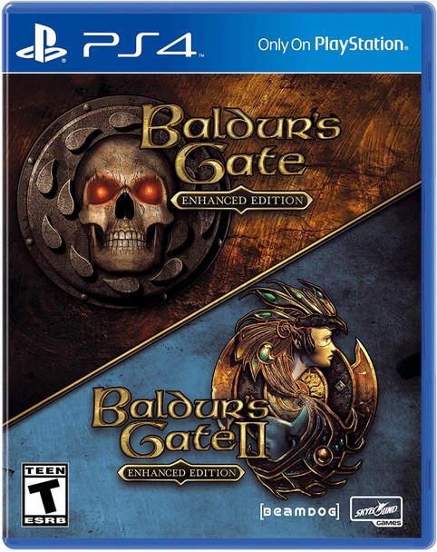 Baldur's Gate 1 & 2 Enhanced Edition - PS4