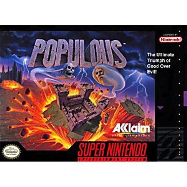POPULOUS  - SNES