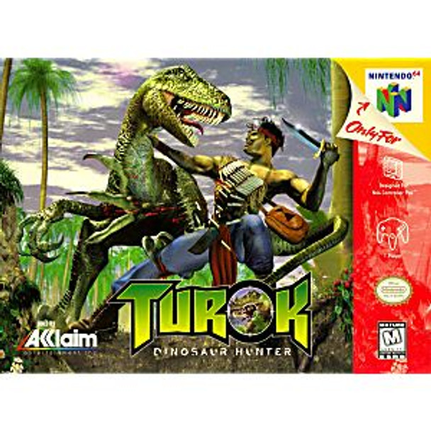 TUROK THE DINOSAUR HUNTER - N64