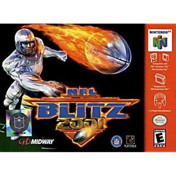 NFL BLITZ 2001 - N64