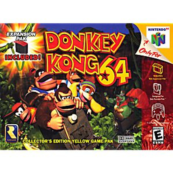 DONKEY KONG 64 - N64