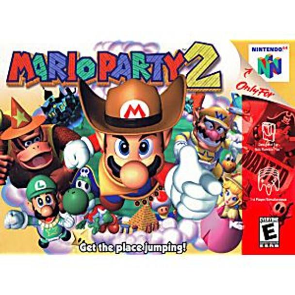 MARIO PARTY 2 - N64
