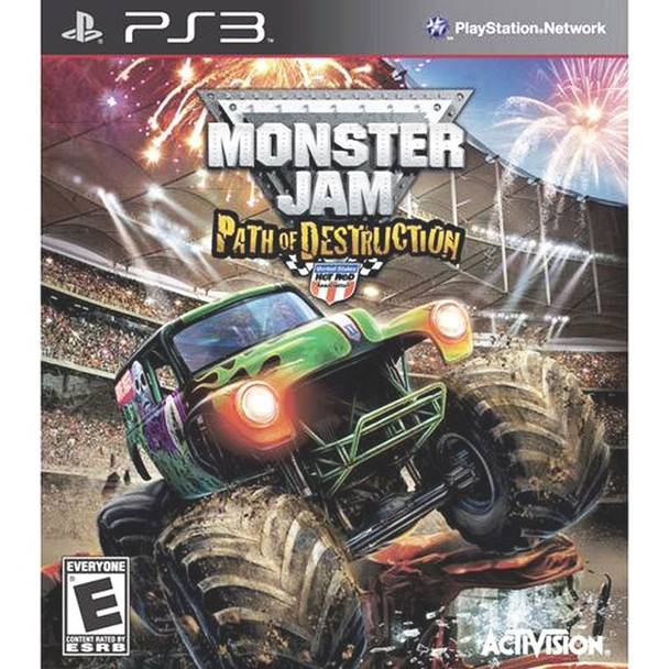 MONSTER JAM: PATH OF DESTRUCTION  - PS3