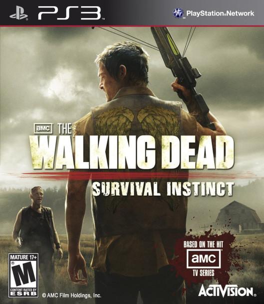 WALKING DEAD: SURVIVAL INSTINCT  - PS3