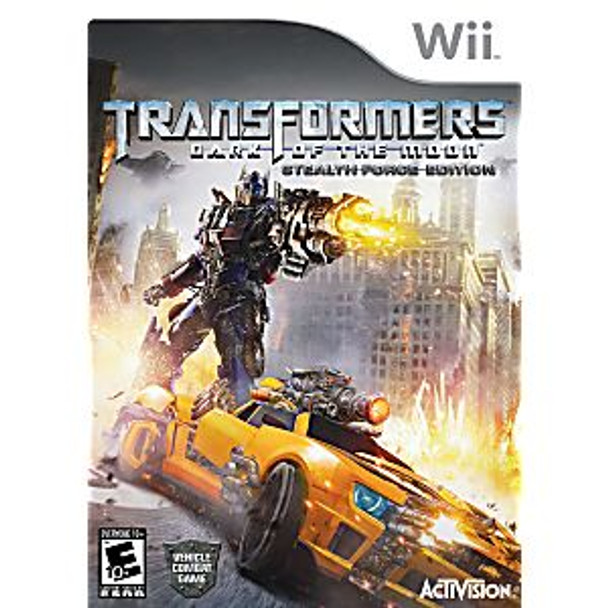 TRANSFORMERS DARK MOON STEALTH FOR ED [E10] - WII