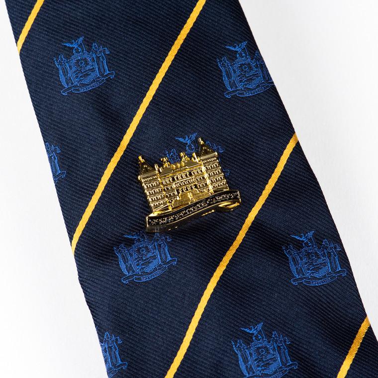 Tie Tack, Capitol Building, Gold