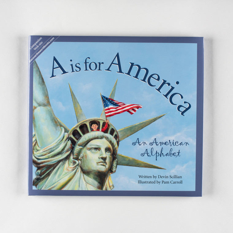 Book, A Is For America