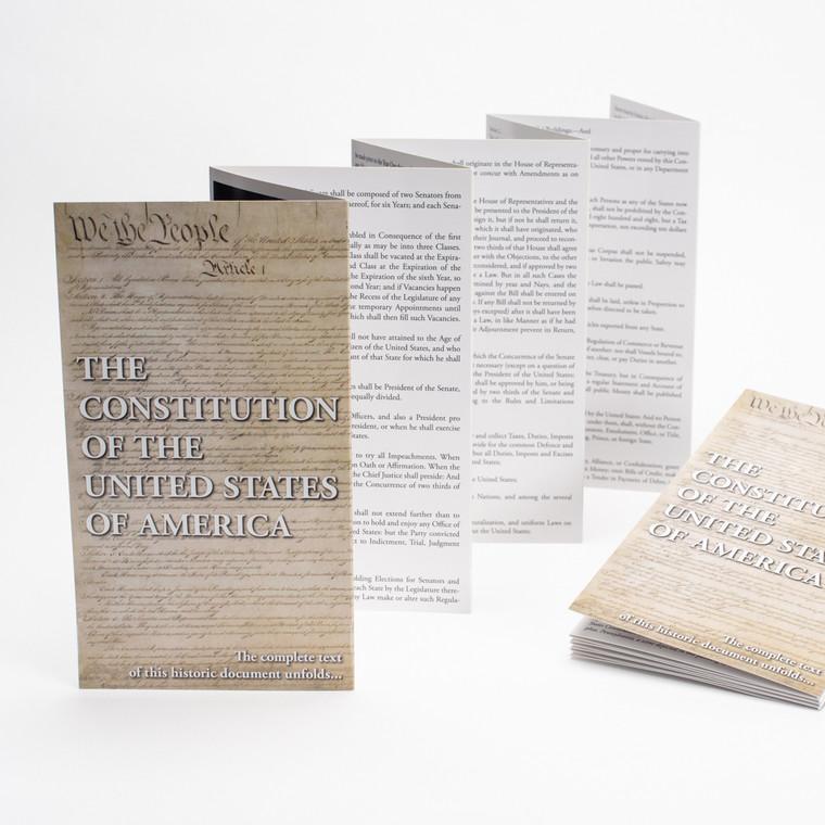 Booklet, US Constitution