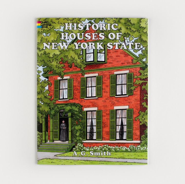 Historic Homes of New York Coloring Book