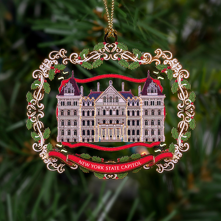 Ornament, New York State Capitol, Gift Boxed