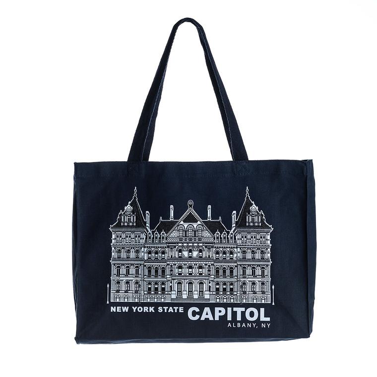 Tote Bag, Capitol, Navy