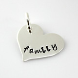 Add a 'Family' Heart Charm