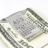 Mark Your Calendar Double Money Clip - One Calendar/One Message
