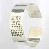 Mark Your Calendar Cuff Bracelet