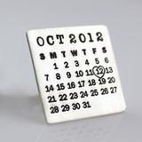 Mark Your Calendar Pin