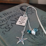 Keep Calm and Read On Simply Charming Bookmark