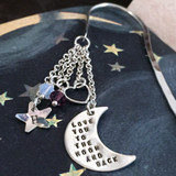 Love You to the Moon and Back Simply Charming Bookmark