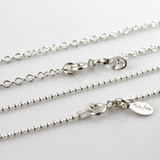 Start with a Sterling Necklace Chain