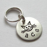 My Itty Bitty Kitty Personalized Pet Tag