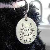 My Kitty Personalized Pet Tag