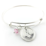 Survivor | Awareness Ribbon Bangle Bracelet