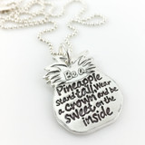 Be a Pineapple Inspirational Necklace