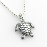 Sea Turtle Simple Charm Necklace