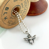 Bumble Bee Simple Charm Necklace