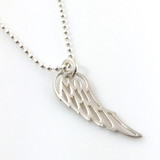 Angel Wing Simple Charm Necklace