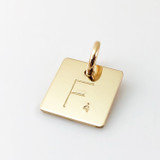 Add a Scrabble Tile | Gold-Filled polished finish