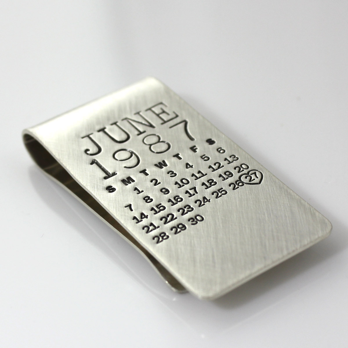 Mark Your Calendar Money Clip