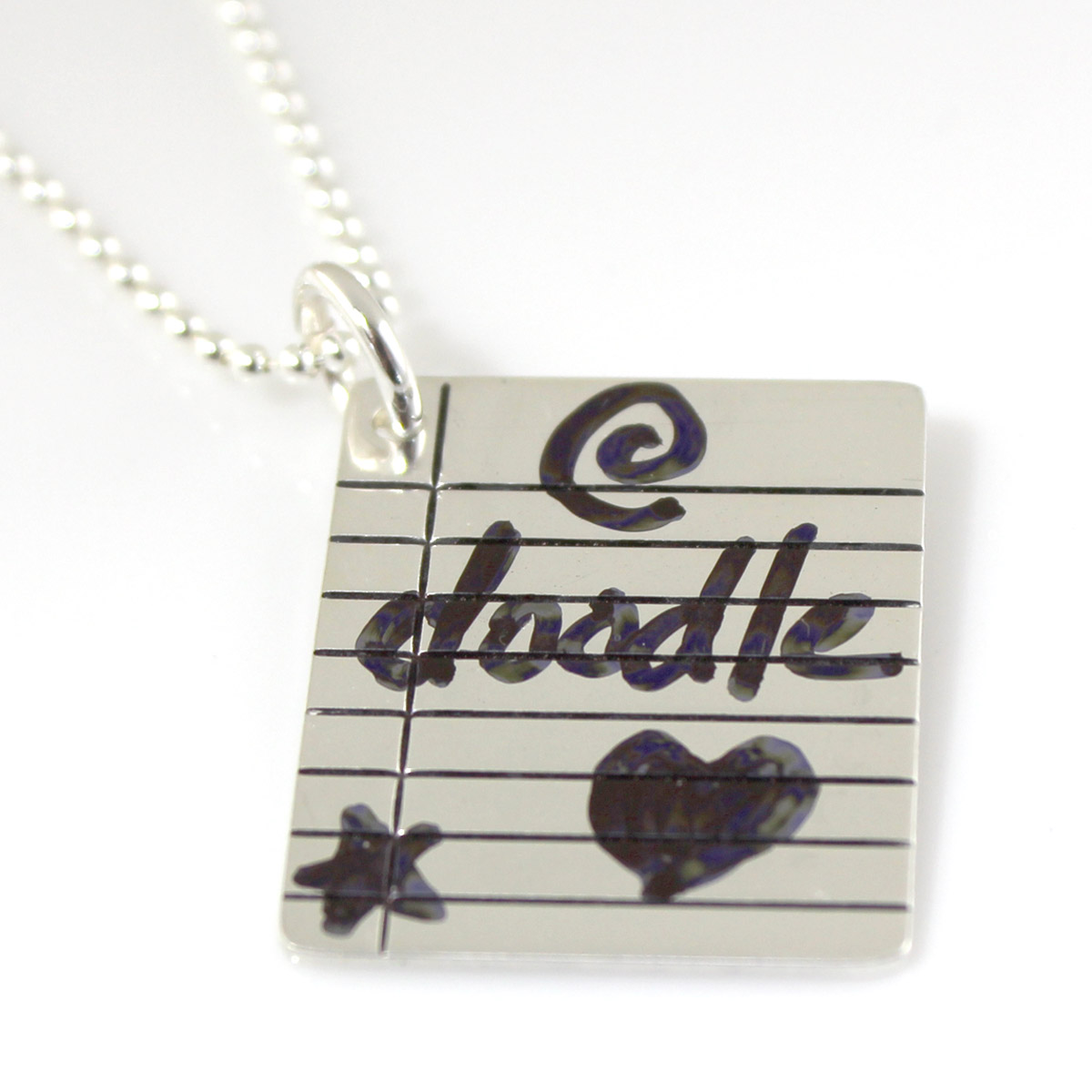 Write On/Wipe Off Binder Paper Necklace