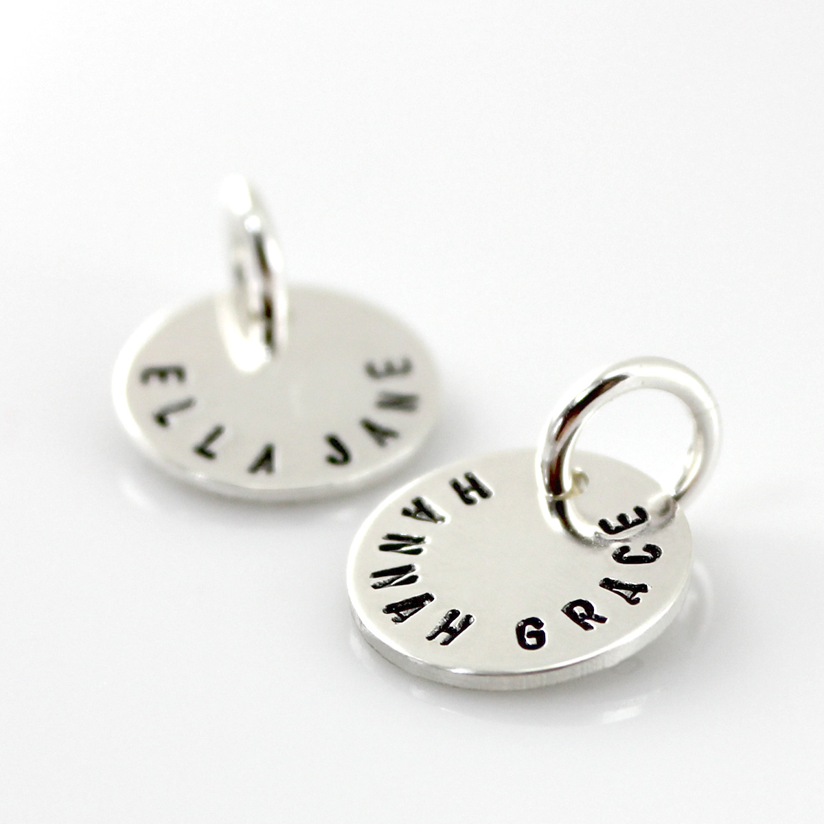 Add a Double Sided Name and Date Disc