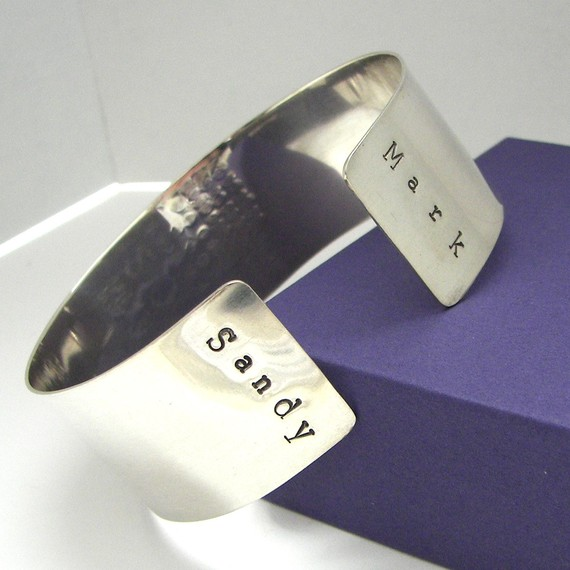 Mark Your Calendar Cuff Bracelet with names