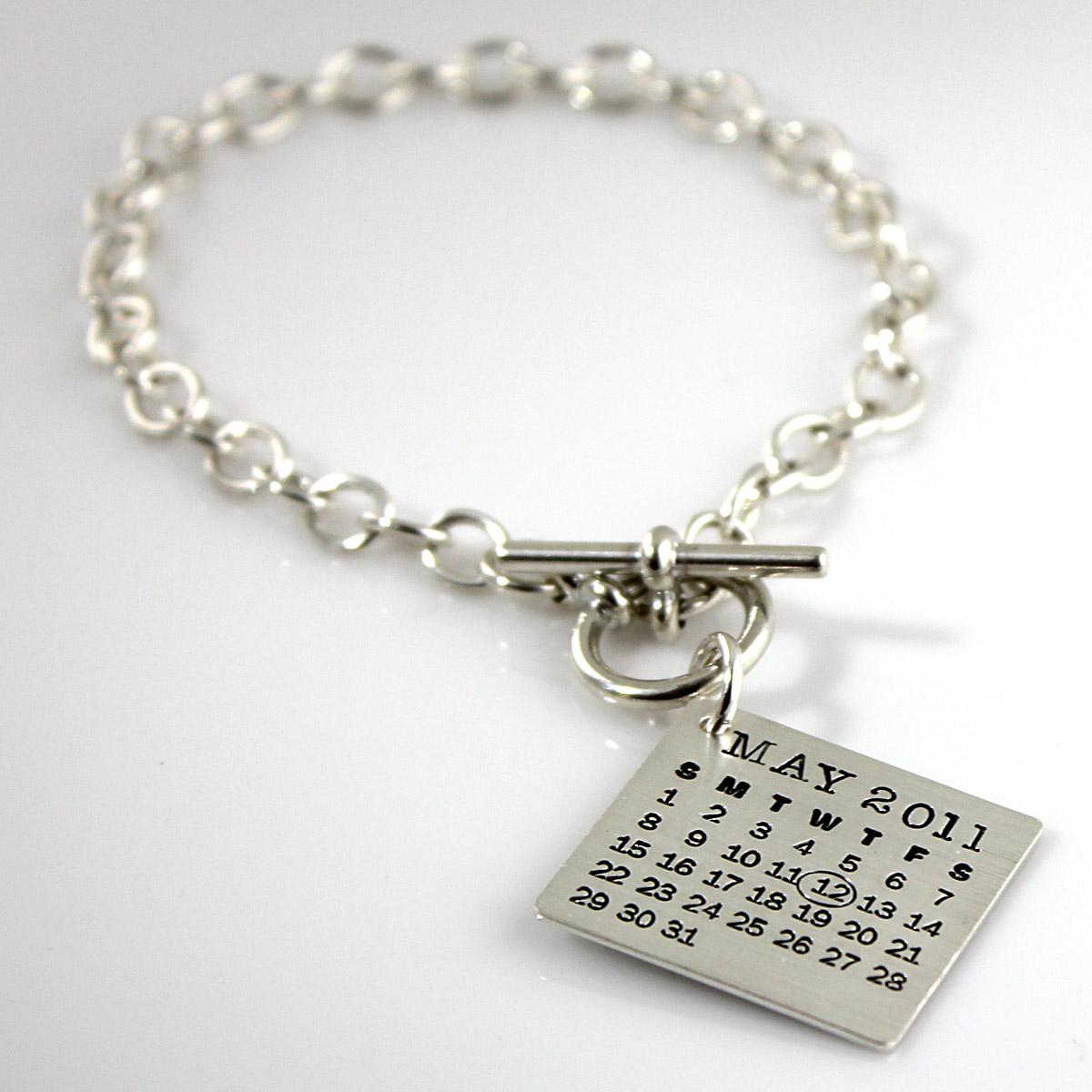 Mark Your Calendar Toggle Bracelet