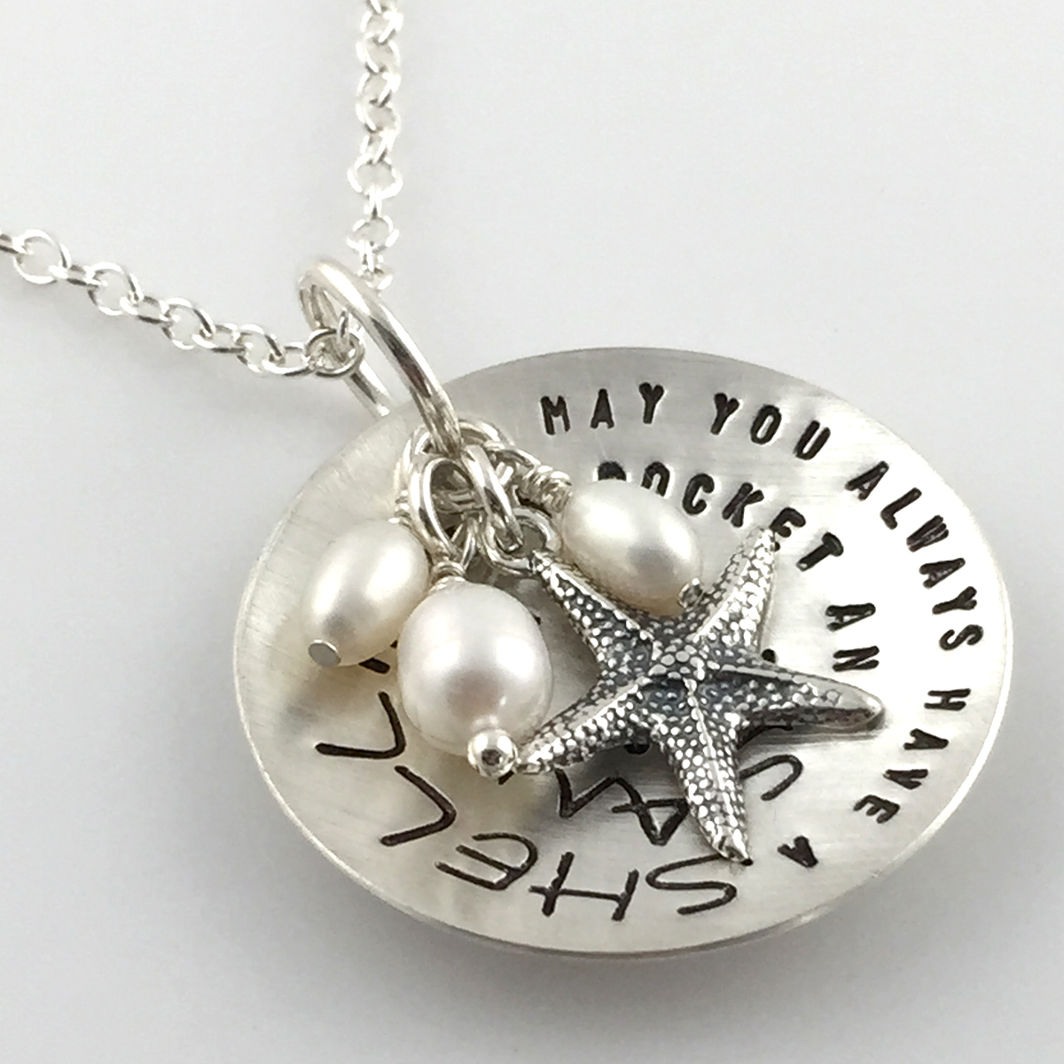 Beach Lover Cup of Wishes Necklace