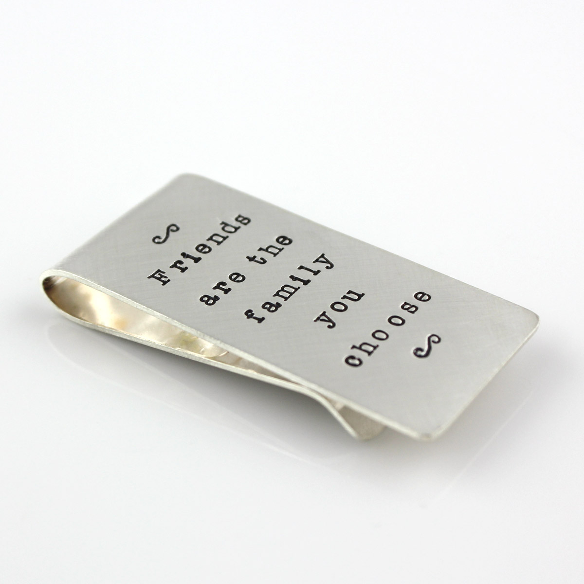 Personalized Sterling Silver Money Clip