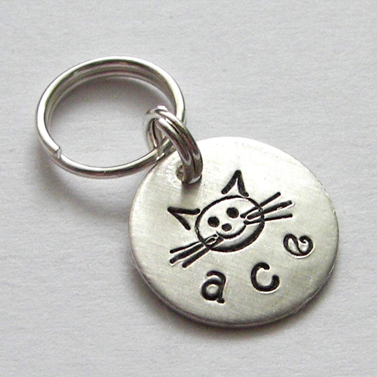 My Itty Bitty Kitty Personalized Pet Tag